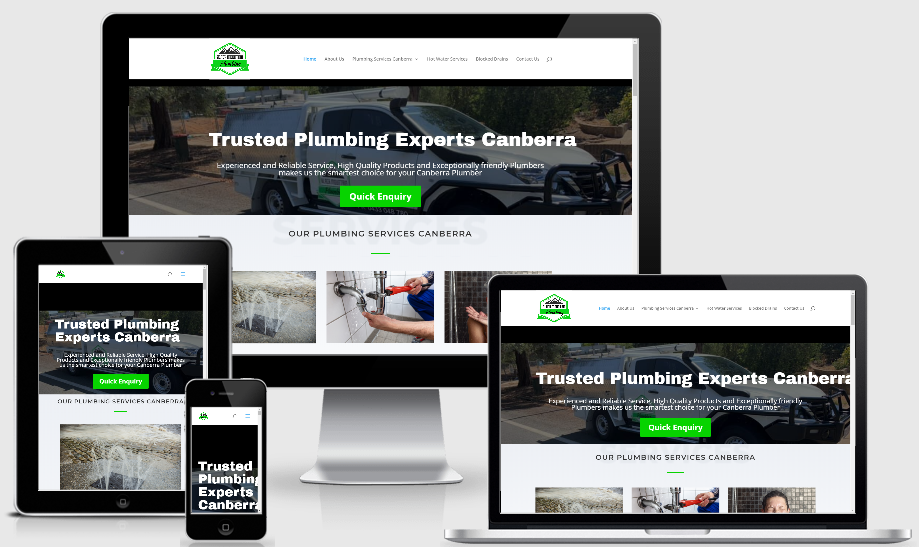 website for small business canberra